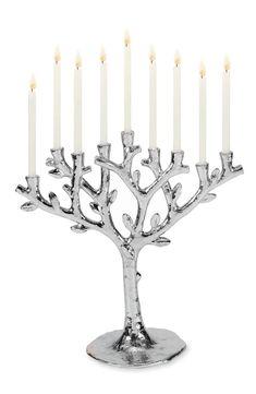 Tree of life menora #judaica #ad
