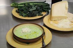 Polenta and kale: Farinata di cavolo nero recipe #Tuscany #Italy by Rudolf Rainer