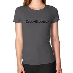 Code Blooded Fitted Tee $39.99 CAD #womenintech