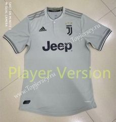 2b800a43592 Player Version 2018-19 Juventus Away Soft Sand Thailand Soccer Jersey AAA  Club Shirts