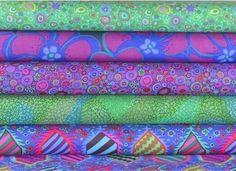 Kaffe Fassett Bundle 5 Fabrics - 1/2 Yard Of Each Fabric - Half Yard Bundle  | eBay