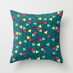 today is the day Throw Pillow by iso.  - $20.00