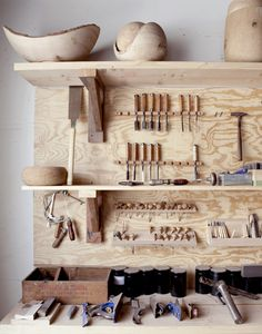 Love the smell of a woodshop... I want one of my  own..... joshua Vogel's wood shop / shot by seth smoot #woodworking