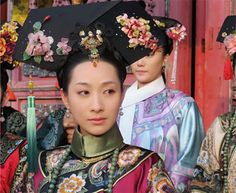 Legend of Zhen Huan Oriental Fashion, Ethnic Fashion, Chinese Fashion, Chinese Style, Chinese Art, Beijing, Empresses In The Palace, Hair Decorations, Chinese Clothing