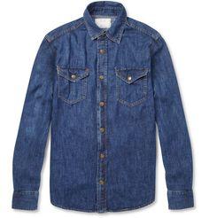 Billy Reid Washed-Denim Shirt | MR PORTER