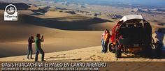 Paseo en carro arenero en el oasis Huacachina