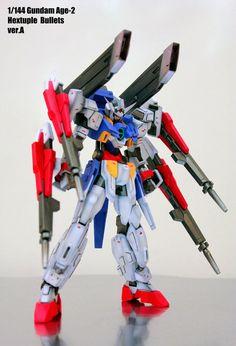 Gundam Age-2. Nice work on the gundam