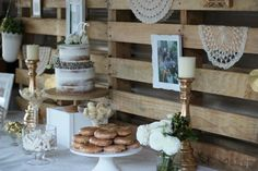 Sweets table With pallets