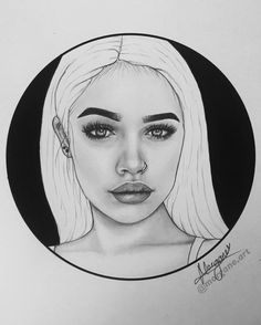 "961 Likes, 58 Comments - Morgane Maurer (@morgane.art) on Instagram: ""New drawing✍💘 it's @nisrinasbia :) I really hope she sees it😍🙏 can you tag her please? 😘…"""