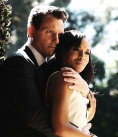 "Tony Goldwyn  Kerry Washington, ""Scandal"", one day I am going to binge watch this series."