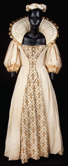 "Gown worn in the 2011 movie ""The Three Musketeers."""