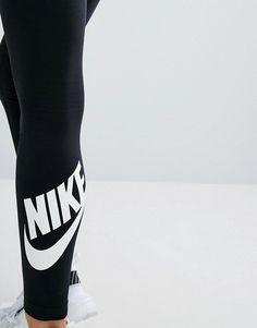 Nike | Nike Leg A See Leggings In Black With Futura Logo