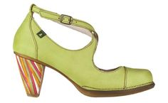 N477 Crust Leather Lima / Colibri Multicolor - Woman Shoes - Online Shop - El Naturalista