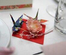 折鶴テーブルコーデ