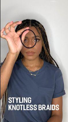 Braided Hairstyles For Black Women Cornrows, Box Braids Hairstyles For Black Women, Braids Hairstyles Pictures, Twist Braid Hairstyles, African Braids Hairstyles, Braids For Black Women, Scarf Hairstyles, Protective Hairstyles, Twist Braids