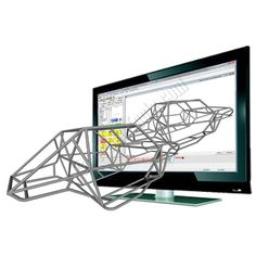 Bend-Tech Pro tube bending software allows full chassis design along with tube bending and notching dimensions and calculations