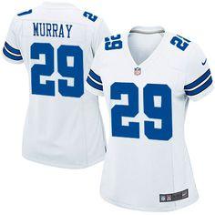 f9acfa0c6 NFL Womens Elite Nike Dallas Cowboys  29 DeMarco Murray White Jersey   109.99 Nfl Jerseys For
