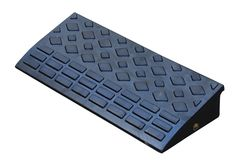 Semi, PickUp, Trailer Heavy-Duty Truck Trailer Loading Ramps - Material Handling Equipment Product Information - Rubber Ramps