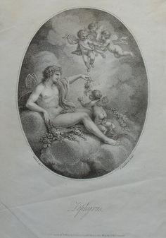 Zephyrus. Francesco Bartolozzi.