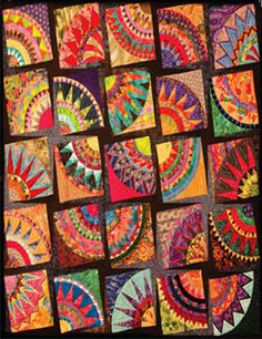 Twisted by Shirley Gillam at the AQC Quilt Show in Melbourne