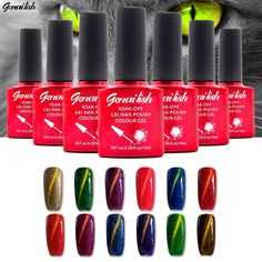 36 Colors Magnetic Cat Eye Gel Nail Gel Polish Long-lasting  UV Fingernail Gel Soak-off LED UV  Color Gel Varnish 10ML/PCS-NK2 * La oferta se puede encontrar haciendo clic en la VISITA botón