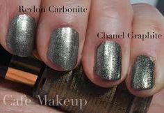 Revlon Carbonite. Chanel Graphite.