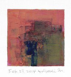 feb232014 | oil on canvas 9 cm x 9 cm hiroshi matsumoto www.… | Flickr