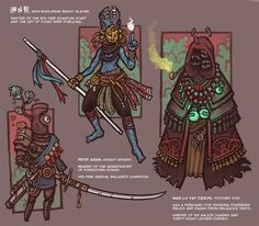 3 Demons by CyborgNecromancer on DeviantArt Fantasy Character Design, Character Concept, Character Inspiration, Character Art, Concept Art, Fantasy Armor, Dark Fantasy, Art Folder, Monster Design