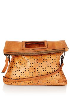 Geo Perforated Crossbody Bag - Bags & Accessories - Topshop USA