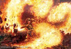 Tribal Flames - MtG Art