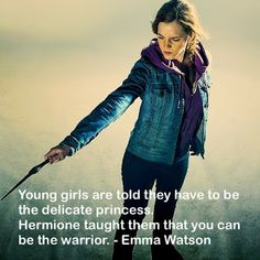 Great role model for young girls. And the rest of us too!