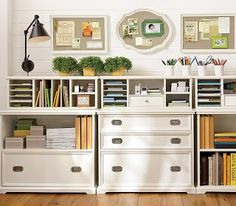 IHeart Organizing: January Featured Space: Home Office - General Tips & Tricks