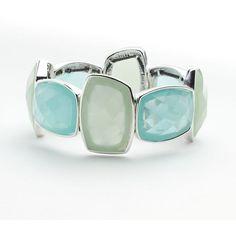 Dana Buchman Stretch Bracelet ($18) ❤ liked on Polyvore featuring jewelry, bracelets, bangles, bangle jewelry, dana buchman, bangle bracelet, hinged bangle and hinged bracelet