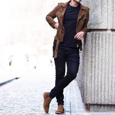 9 roupas da moda no guarda-roupa masculino nesta temporada - Mood - Stylish Mens Outfits, Hipster Outfits, Boho Outfits, Casual Outfits, Men Casual, Man Style Casual, Rock Style Men, Formal Men Outfit, Mode Masculine