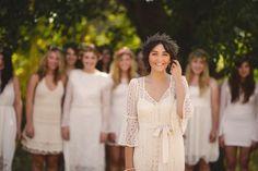 Like the bride focused