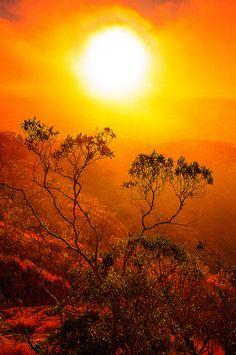 Castle hill lookout, Australia