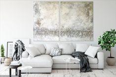 Freue mich, euch diesen Artikel aus meinem Shop bei #etsy vorzustellen: VICTORIA XXL Acrylbild Abstrakt auf Leinwand 180x120cm Creative, Modern, Love Seat, Couch, Etsy, Victoria, Furniture, Home Decor, Matching Colors