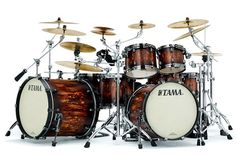 #Tama Starclassic Maple #Drums : Molten Satin Brown Burst