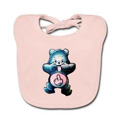 Geschenke Shop | Gummibär Lustig Schwarzer Humor - Baby Bio-Lätzchen Baby Kind, Kind Mode, Lunch Box, Children, Gummy Bears Funny, Scubas, Black People Humor, Ocean, Kids