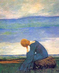 Longing, 1900, Heinrich Vogeler.