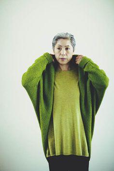 Juergen knit alpaca rail Lillian