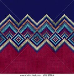Find Seamless Pattern Knit Woolen Trendy Ornament stock images in HD and millions of other royalty-free stock photos, illustrations and vectors in the Shutterstock collection. Tapestry Crochet Patterns, Loom Patterns, Pattern Paper, Pattern Art, Knitting Charts, Knitting Patterns, Cross Stitch Designs, Cross Stitch Patterns, C2c Crochet
