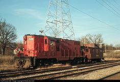 RailPictures.Net Photo: CGW 121 Chicago Great Western EMD GP7 at Ingalton, Illinois by Marty Bernard