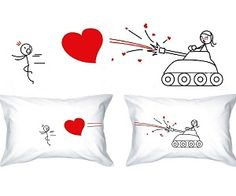 love blast pillowcases