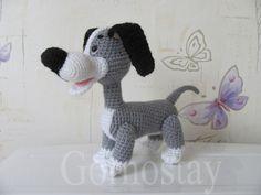 Crochet Animal Amigurumi, Amigurumi Doll, Crochet Animals, Crochet Dolls, Crochet Dog Patterns, Amigurumi Patterns, Knitting Patterns, Toy Puppies, Dog Items