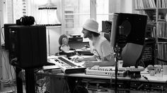 Lindstrøm …and we're delighted to see that Lindstrøm sports his trademark bucket hat! Record Art, Famous Musicians, Home Studio, Recording Studio, Simple House, Art Studios, Music Production, Inspiration, Bucket Hat