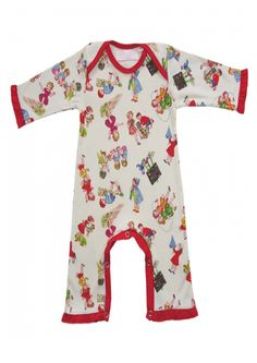 Baby Girls At Play Romper – Retro Baby Clothes Retro Girls At Play Romper One of Powell Craft's stunning vintage look designs and a real retro girls classic 100% cotton girls romper with a vintage girls at play design and gorgeous redtrim Snaps to inner legs for easy peasy nappy changes Last one priced for …