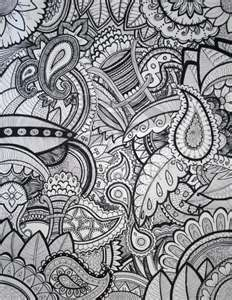 cool zentangles: all those years in school when I was doing these on the side of my papers.....I never knew there was a name for it! Zentangles! :)