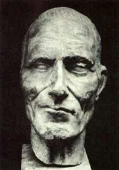 Julius Cesaer death mask