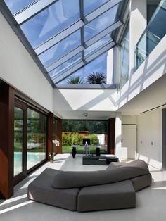 Contemporary modern house architecture design